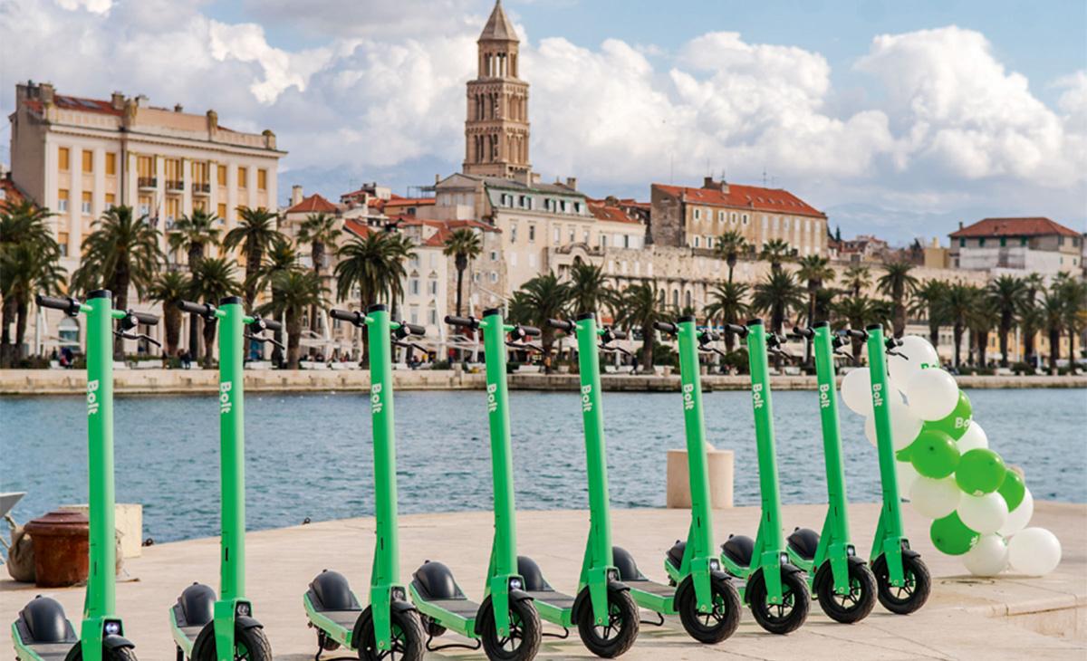 Bolt u Splitu iznajmljuje električne romobile
