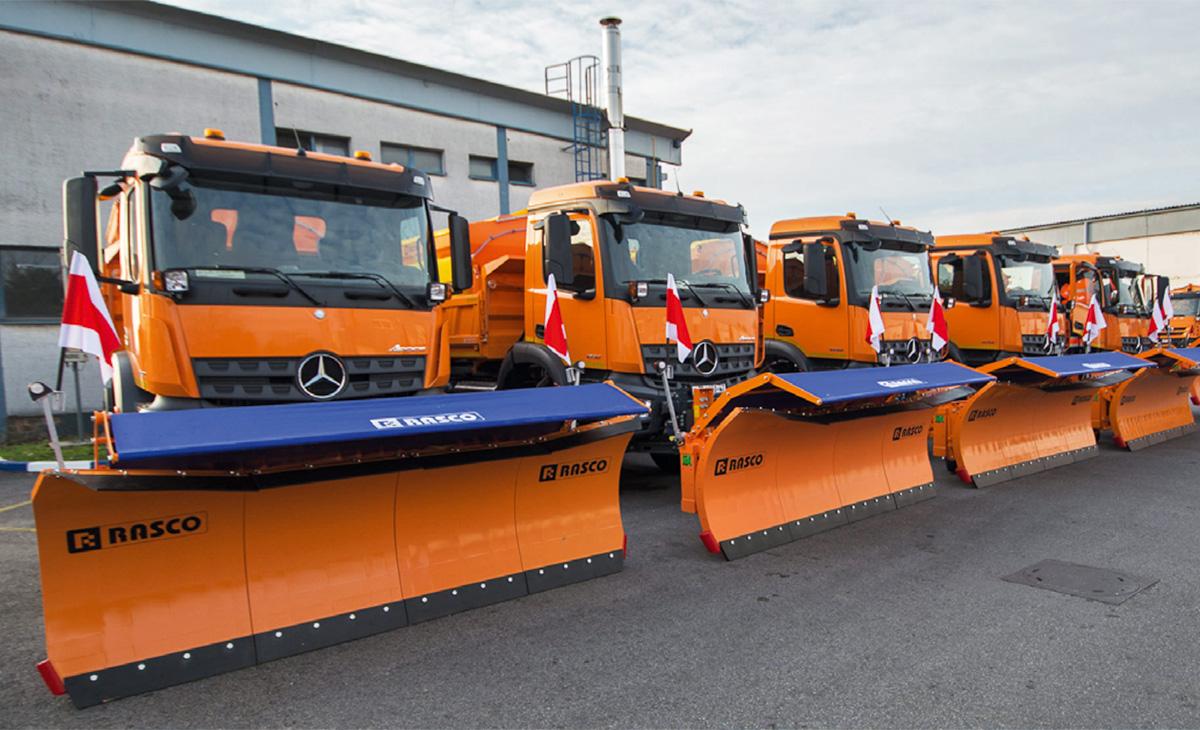 RASCO Gradu Zagrebu isporučio 5 vozila zimske službe