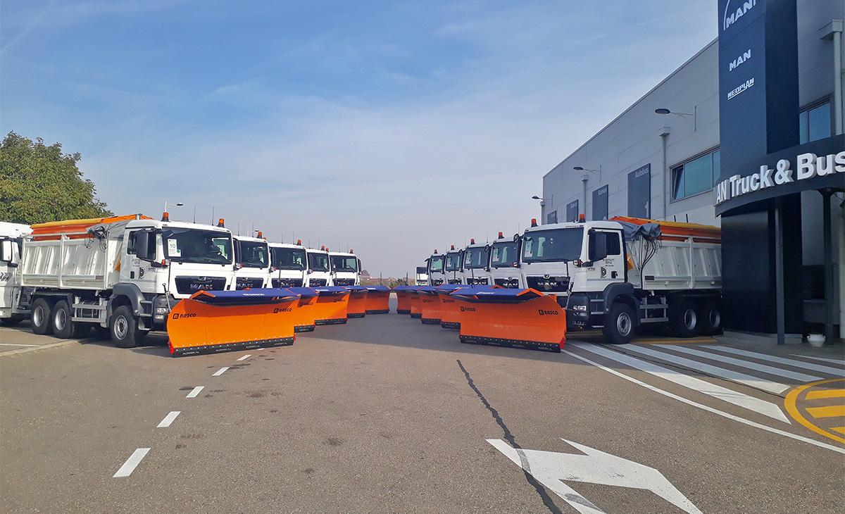 MAN u Srbiji isporučio 32 kamiona za dva javna poduzeća
