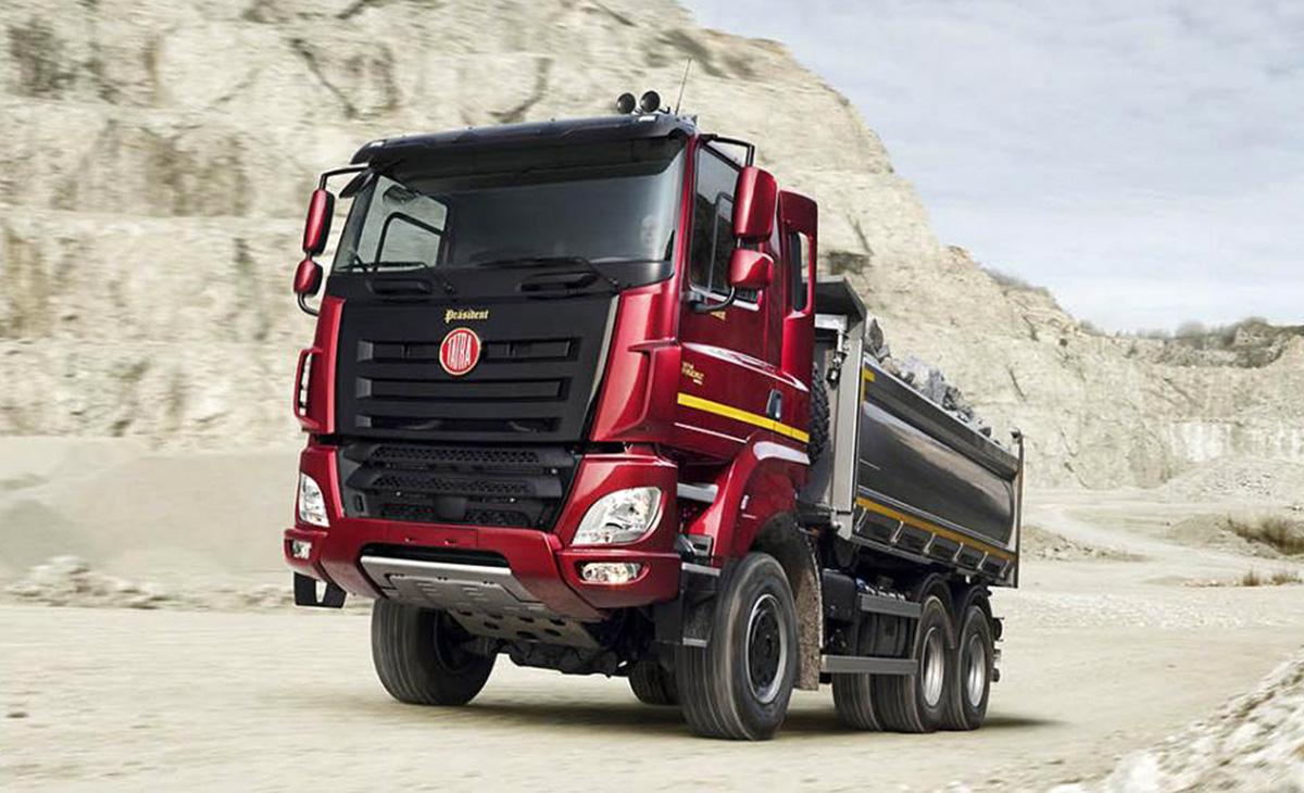 Tatrine tovornjake bodo izdelovali v Azerbajdžanu