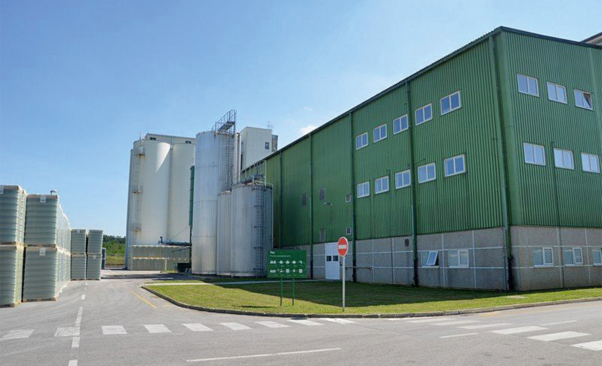 Tehnika gradi skladište u Carlsberg pivovari