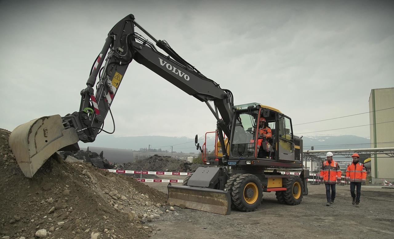Volvo CE unaprjeđuje sigurnost na gradilištima