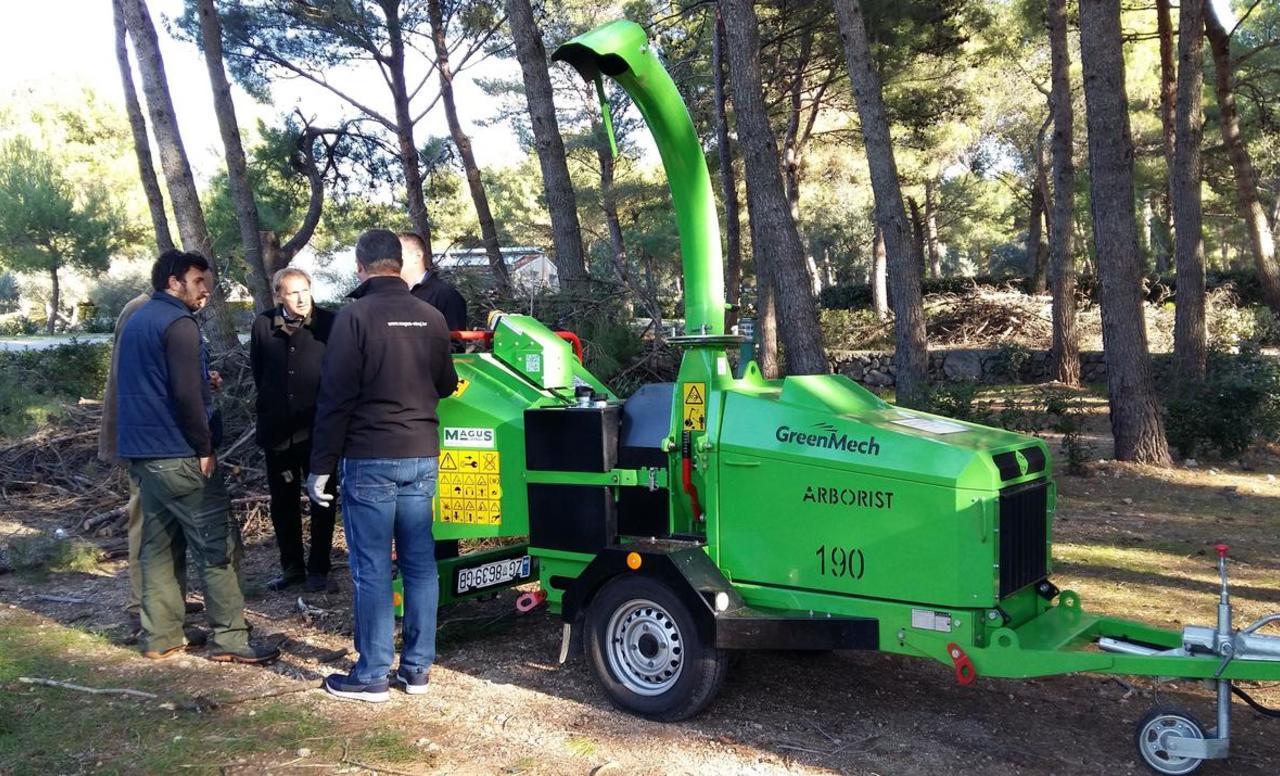 GreenMech Arborist 190 za Cresanku
