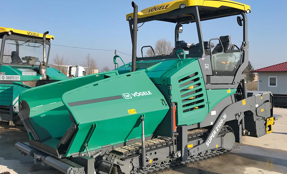 Swietelsky preuzeo još jedan finišer VÖGELE SUPER 2100-3i