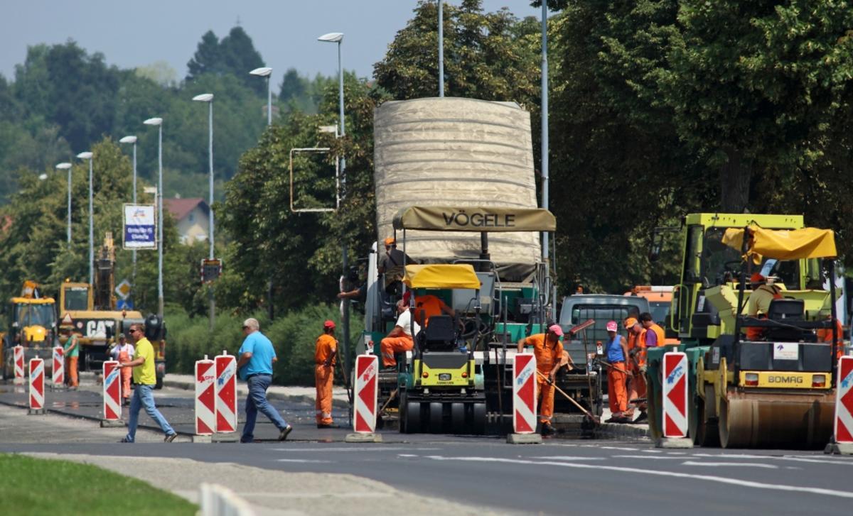 Rebalans proračuna direkcije za infrastrukturo