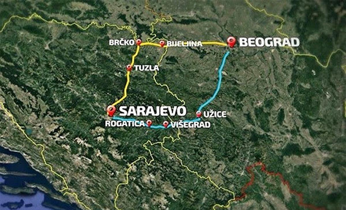 Projekt izgradnje brze ceste Sarajevo - Beograd sve bliže realizaciji