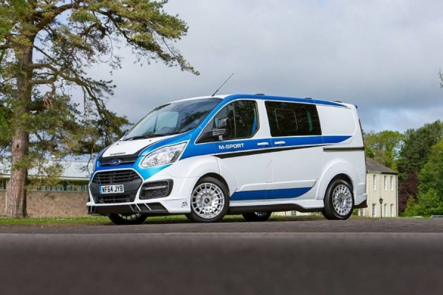 M-Sport Ford Transit Limited Edition