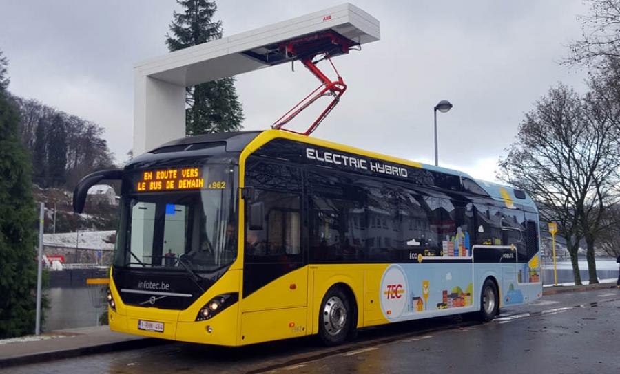 90 plug-in hibridnih autobusa za Belgiju