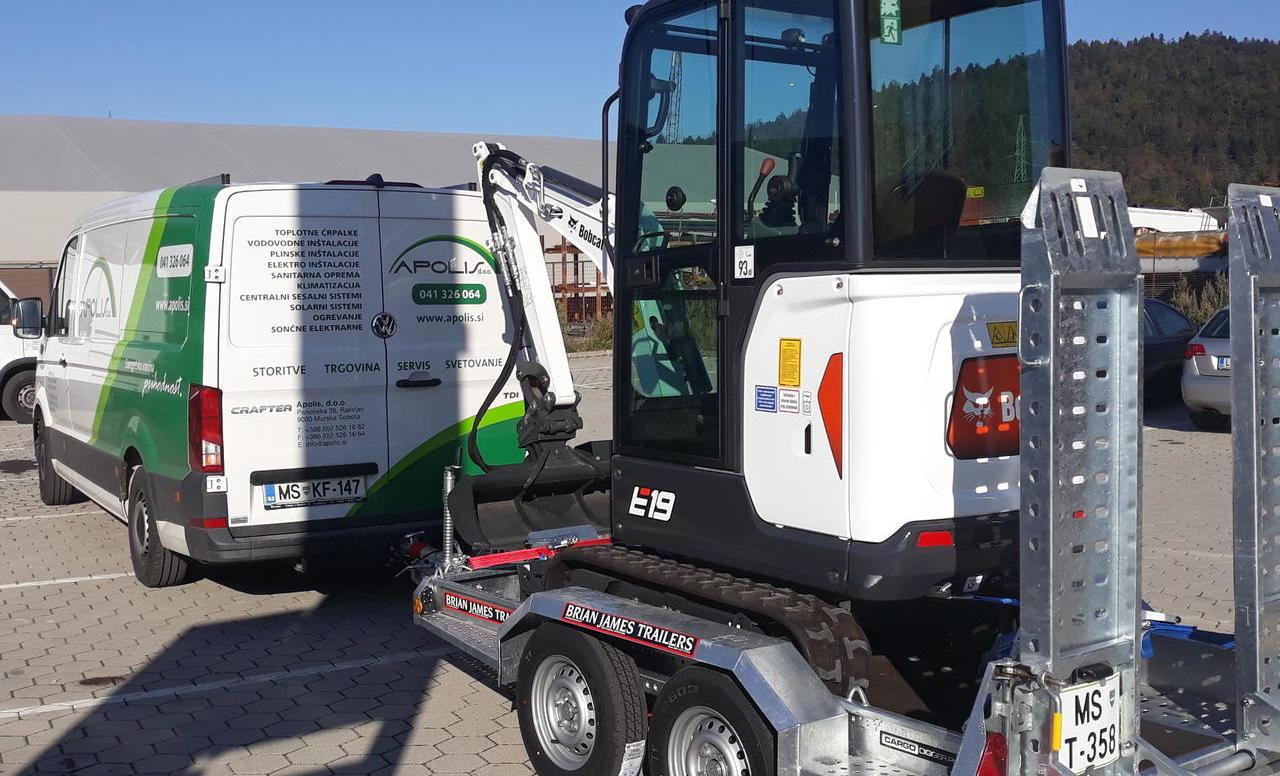 V Pomurje odšel novi Bobcat E19