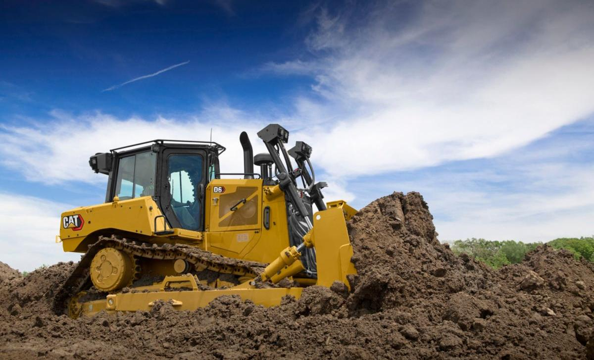 Nova generacija CAT D6 buldožera