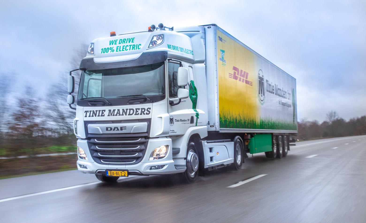 CF Electric za Manders Transport