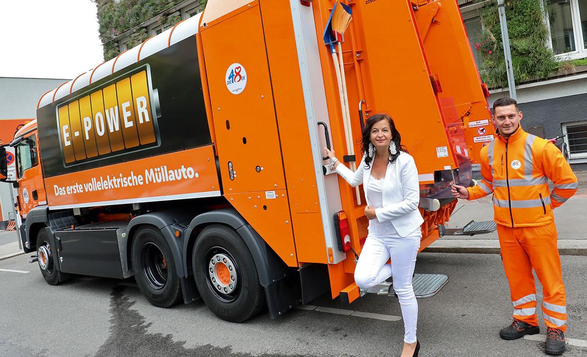 Beč prvi u Austriji uveo električno vozilo za prikupljanje otpada