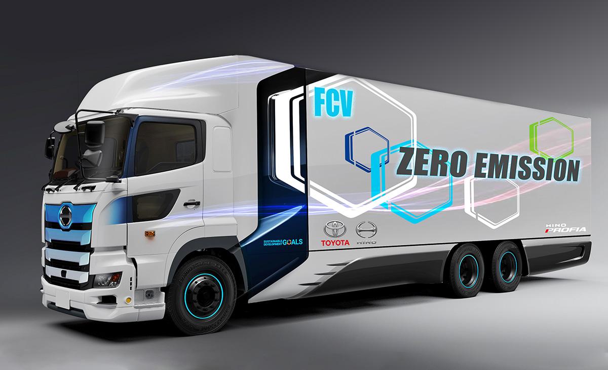 Hino i Toyota razvijaju pogon s vodikom