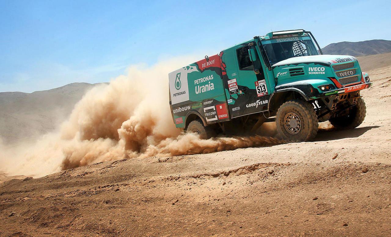 Goodyear tovorne pnevmatike so se odlično izkazale na reli Dakar