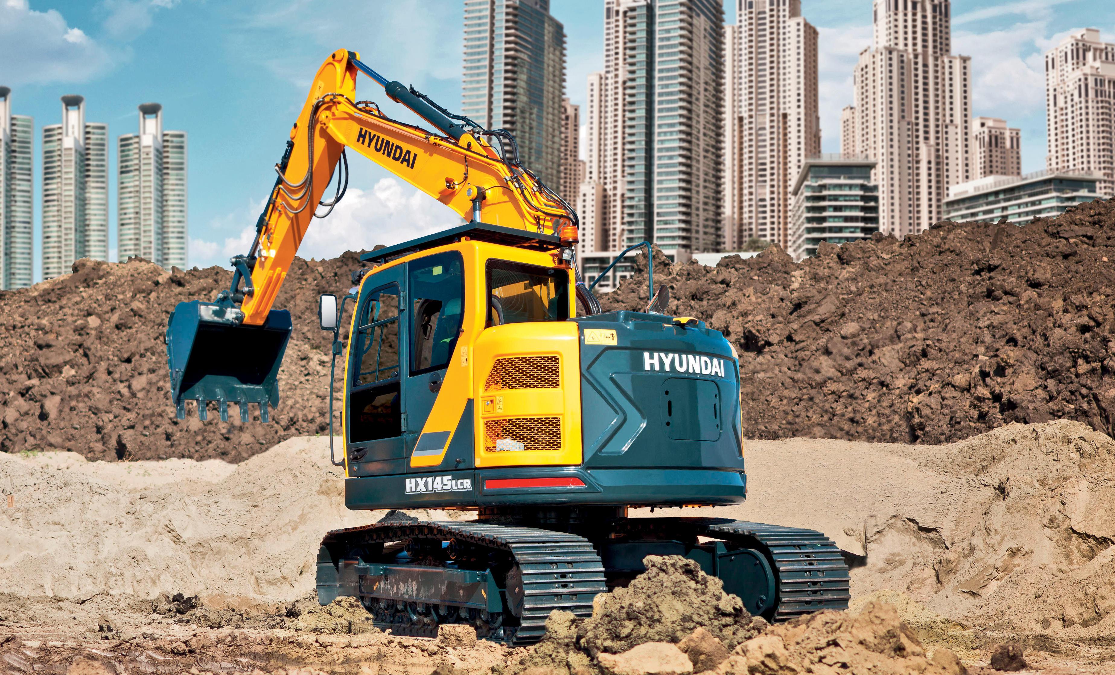 Hyundai HX in HW seriji bagrov