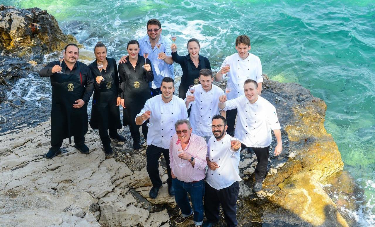 Korčulanski restoran LD Terrace i novaljski Boškinac ovjenčani Michelinovom zvjezdicom