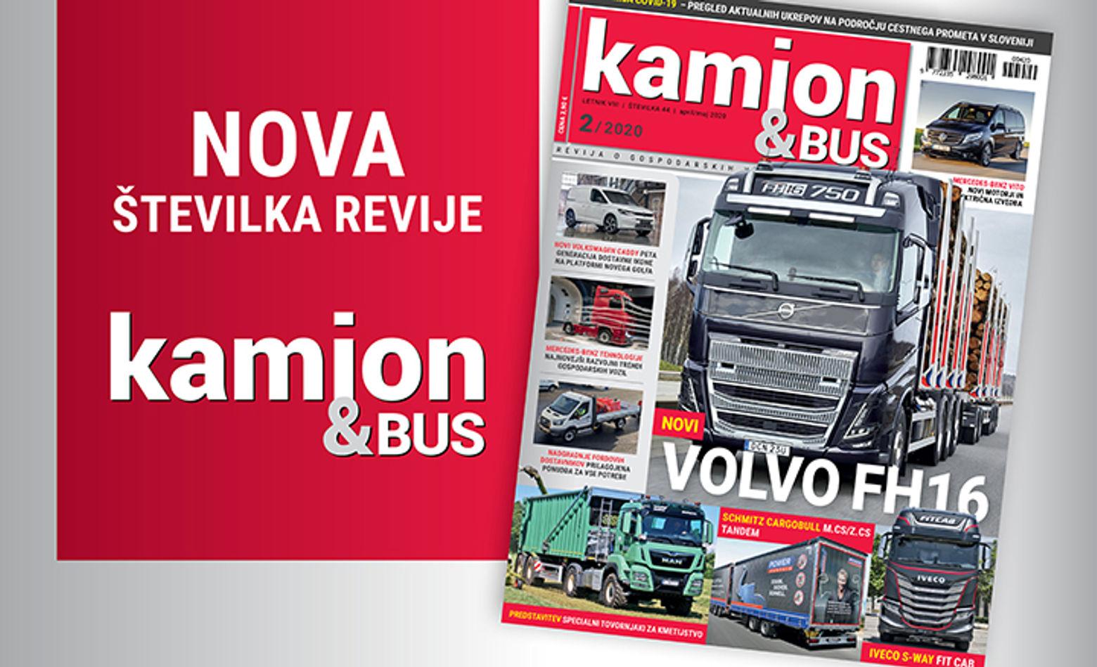 Nova številka revije Kamion&Bus