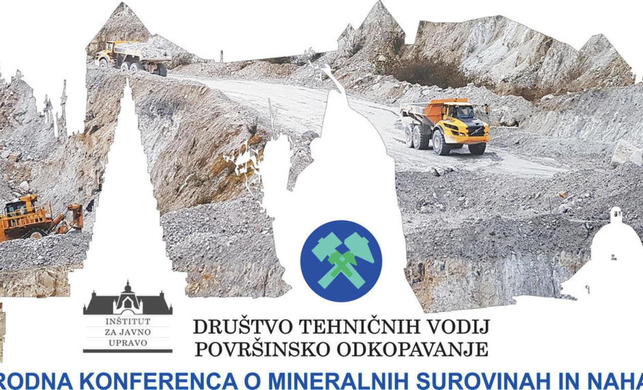 1. Mednarodna konferenca o mineralnih surovinah in nahajališčih