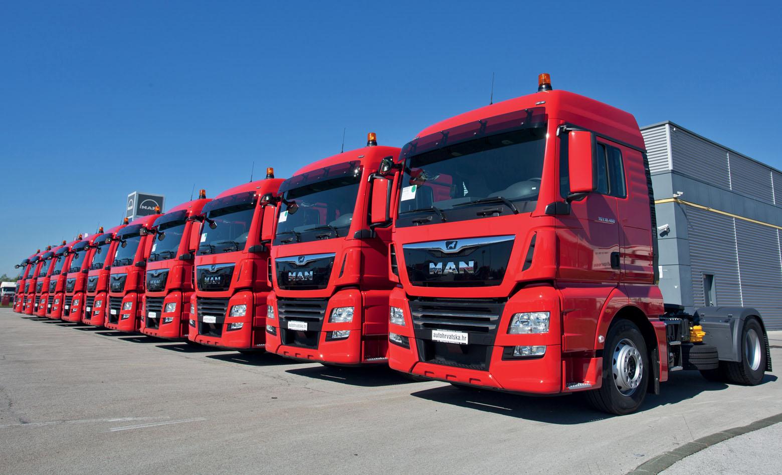 Na tržište ušlo 3.900 kamiona