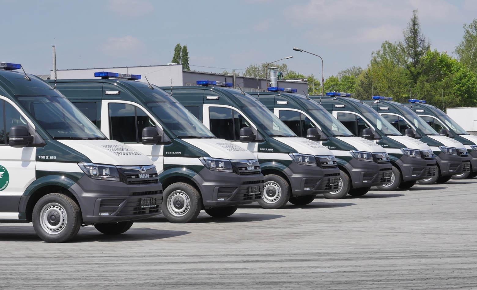 32 MAN TGE za poljsku prometnu inspekciju