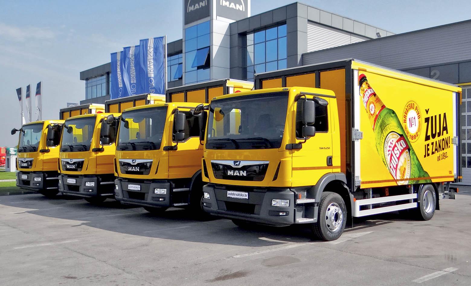 MAN kamioni za TIA partner