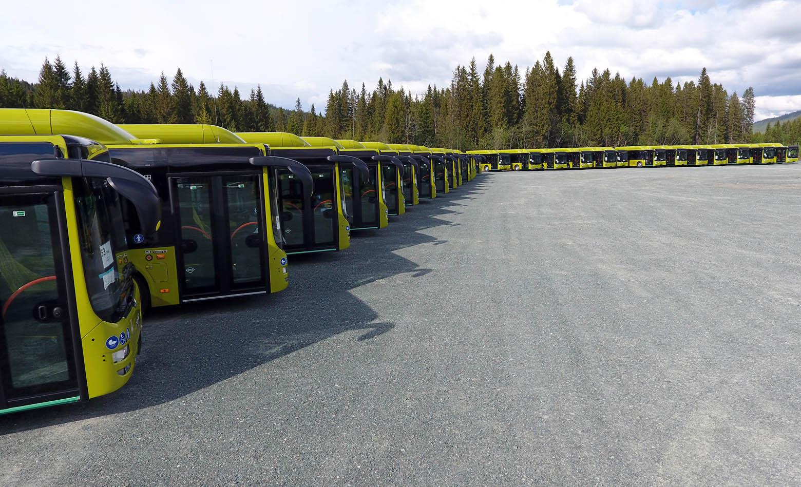 189 gradskih autobusa za Trondheim