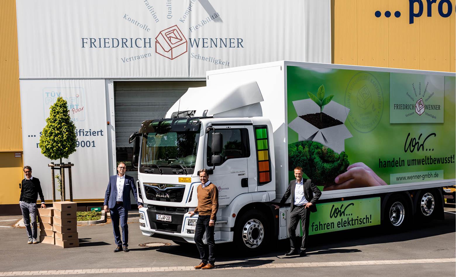MAN eTGM za Friedrich Wenner GmbH