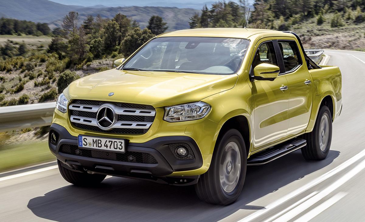 Prvi Mercedesov pick-up