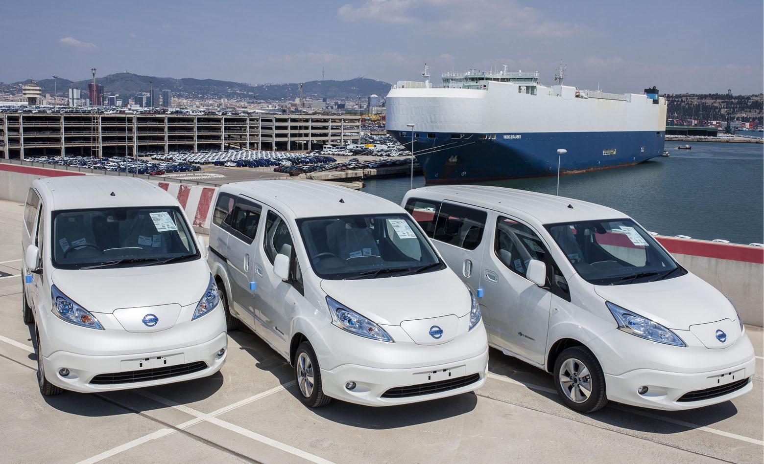 10.000 Nissana e-NV200 nove generacije