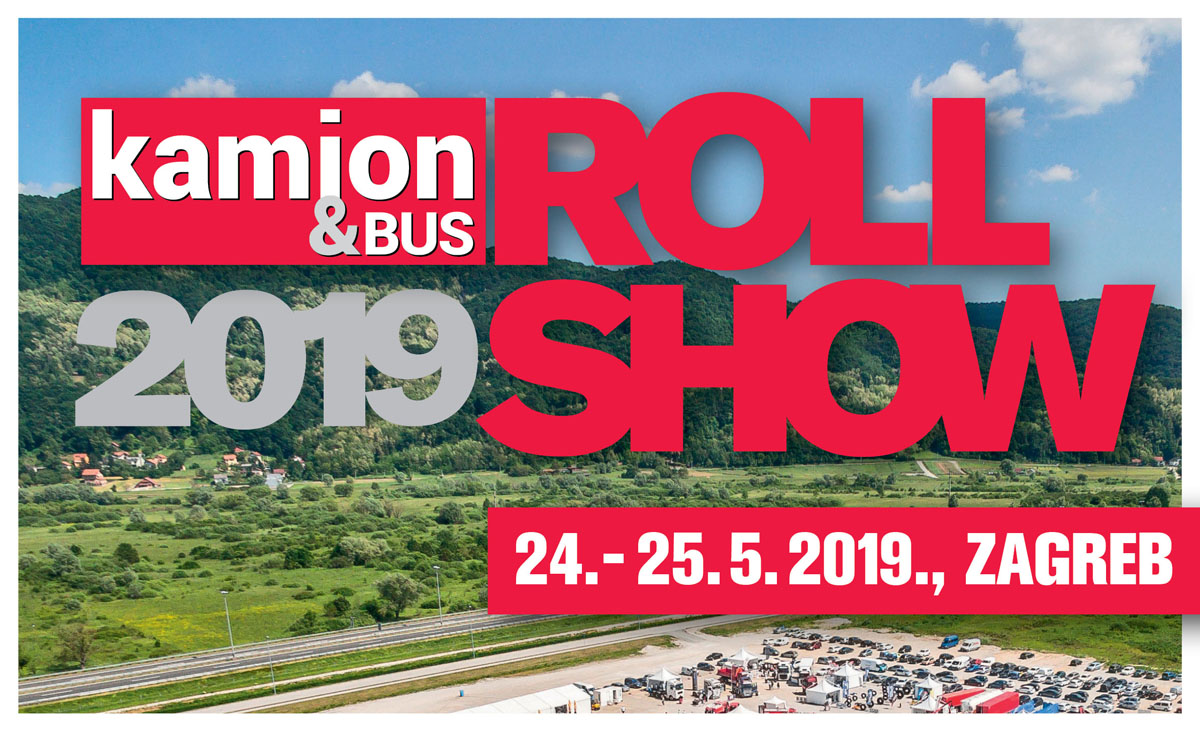 Kamion&Bus Roll Show 24. i 25. svibnja 2019.