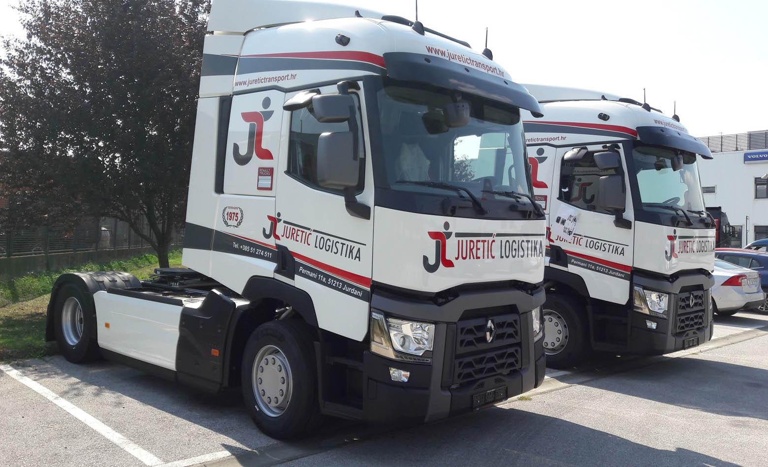 Dva T 480 za Juretić Transport