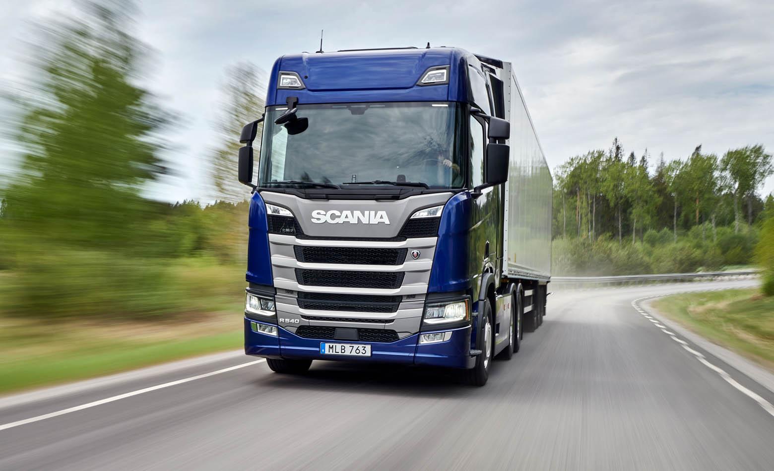 Novi Scania motor s 540 KS