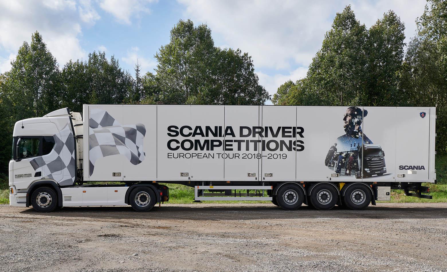 Prijavi se za Scania Driver Competitions