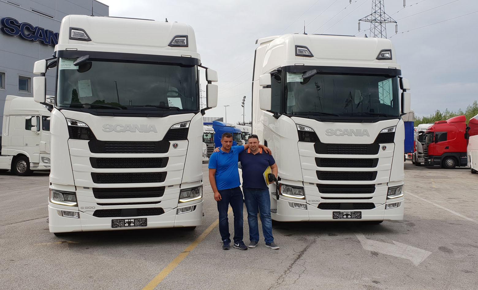Dvije S 500 za Rocco Logistiku