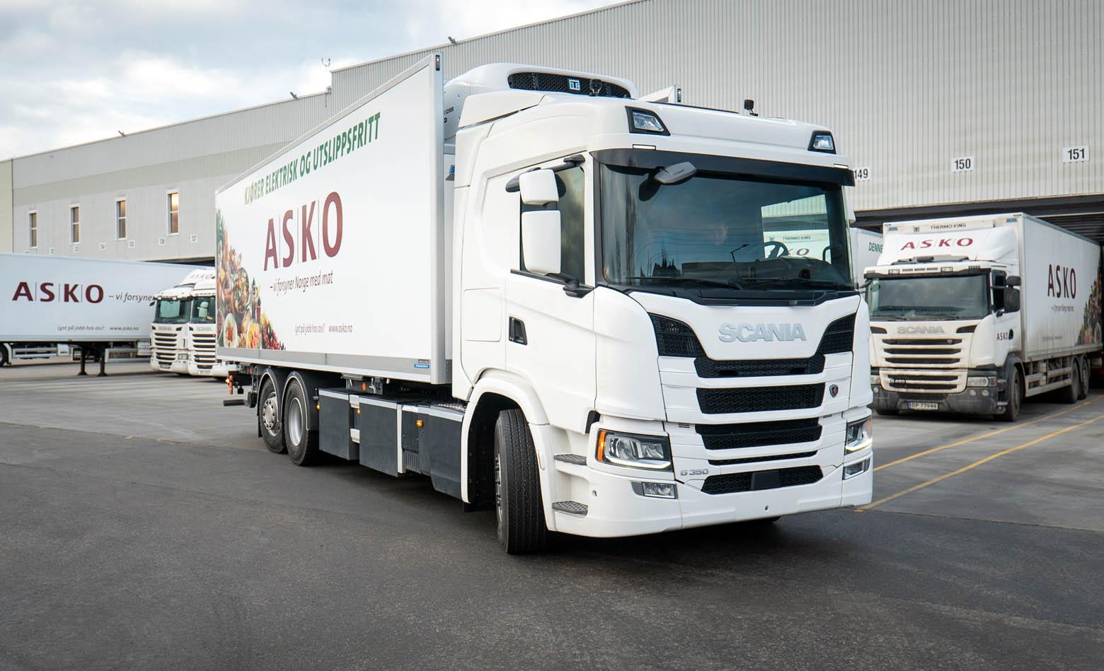 75 električnih Scania kamiona za ASKO