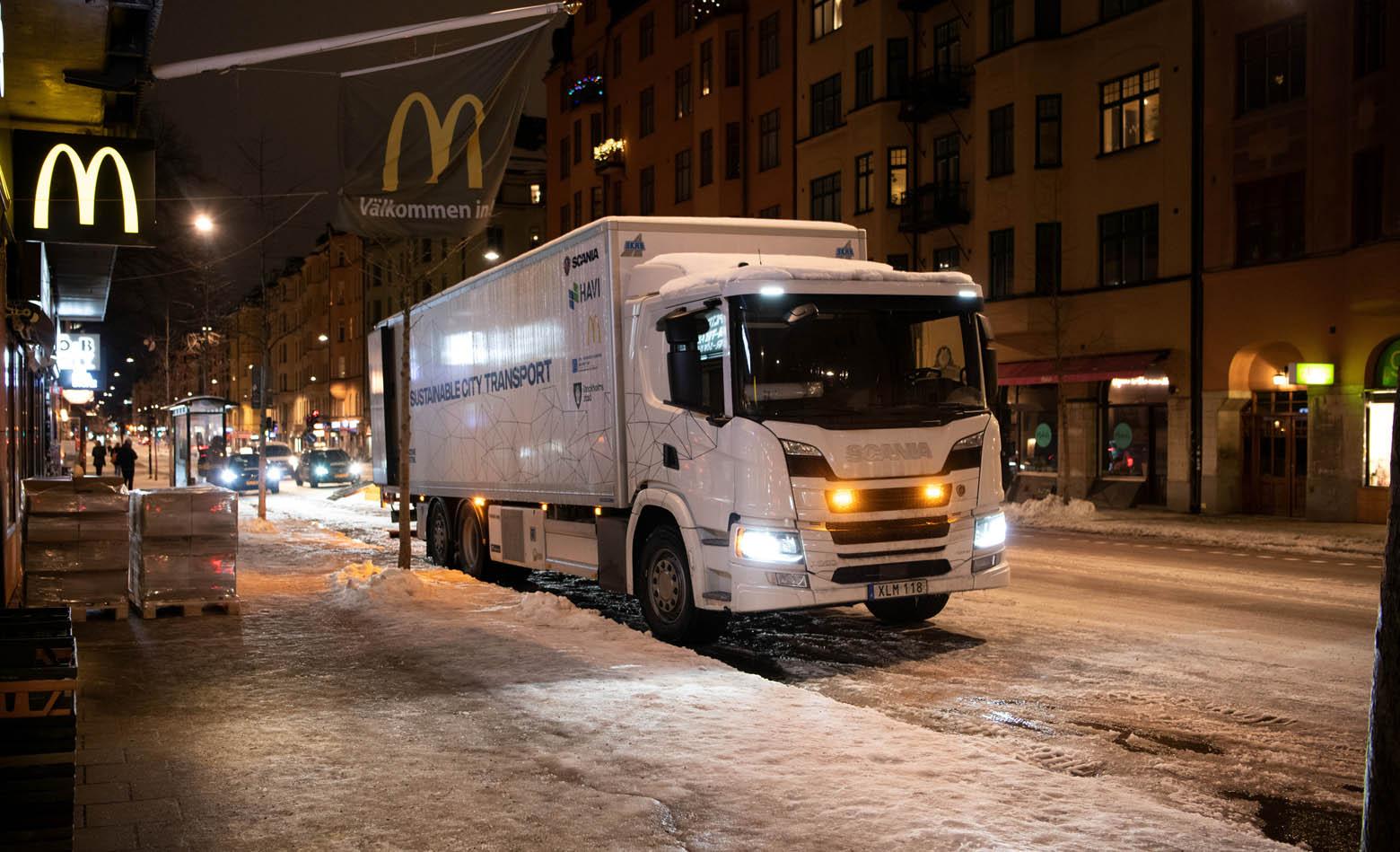 Hibridni pogon za noćnu dostavu