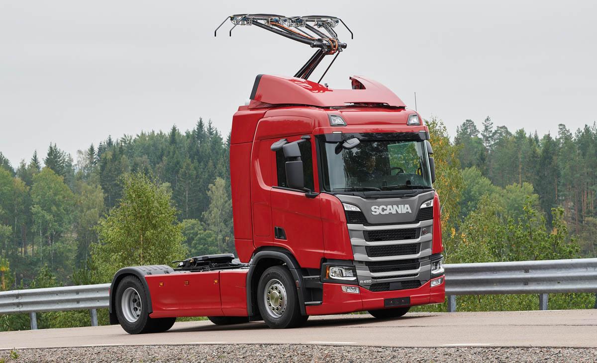 Scania će isporučiti prve kamione s pantografom