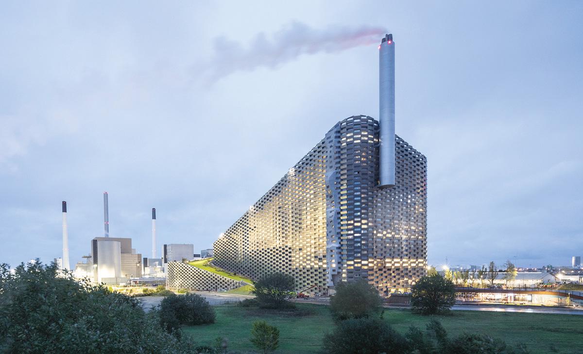 Amager Bakke - spalionica otpada u Kopenhagenu
