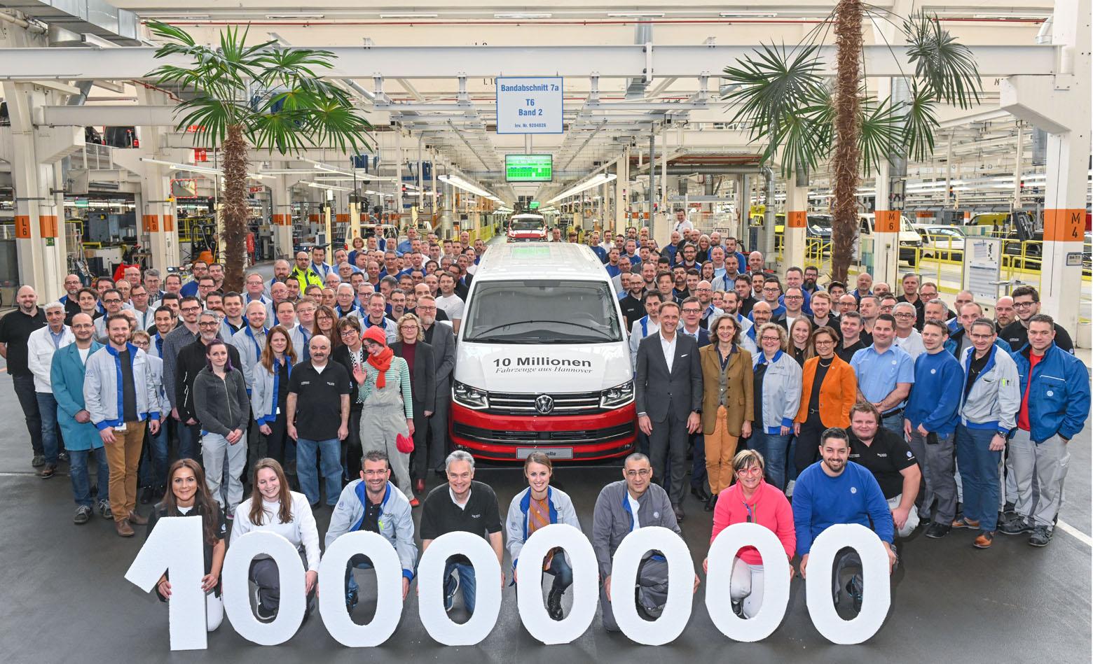 10 milijuna vozila iz Hannovera