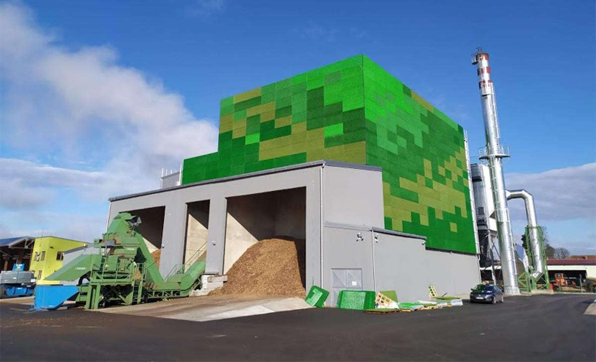Otvorena elektrana na biomasu u Virovitici