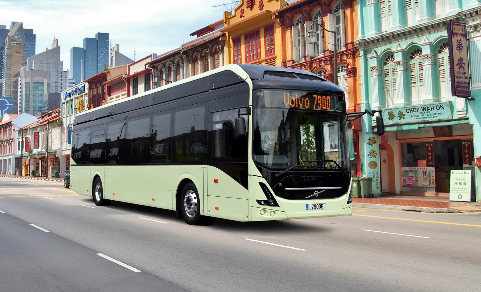 Prvi električni autobus u Irskoj bit će Volvo