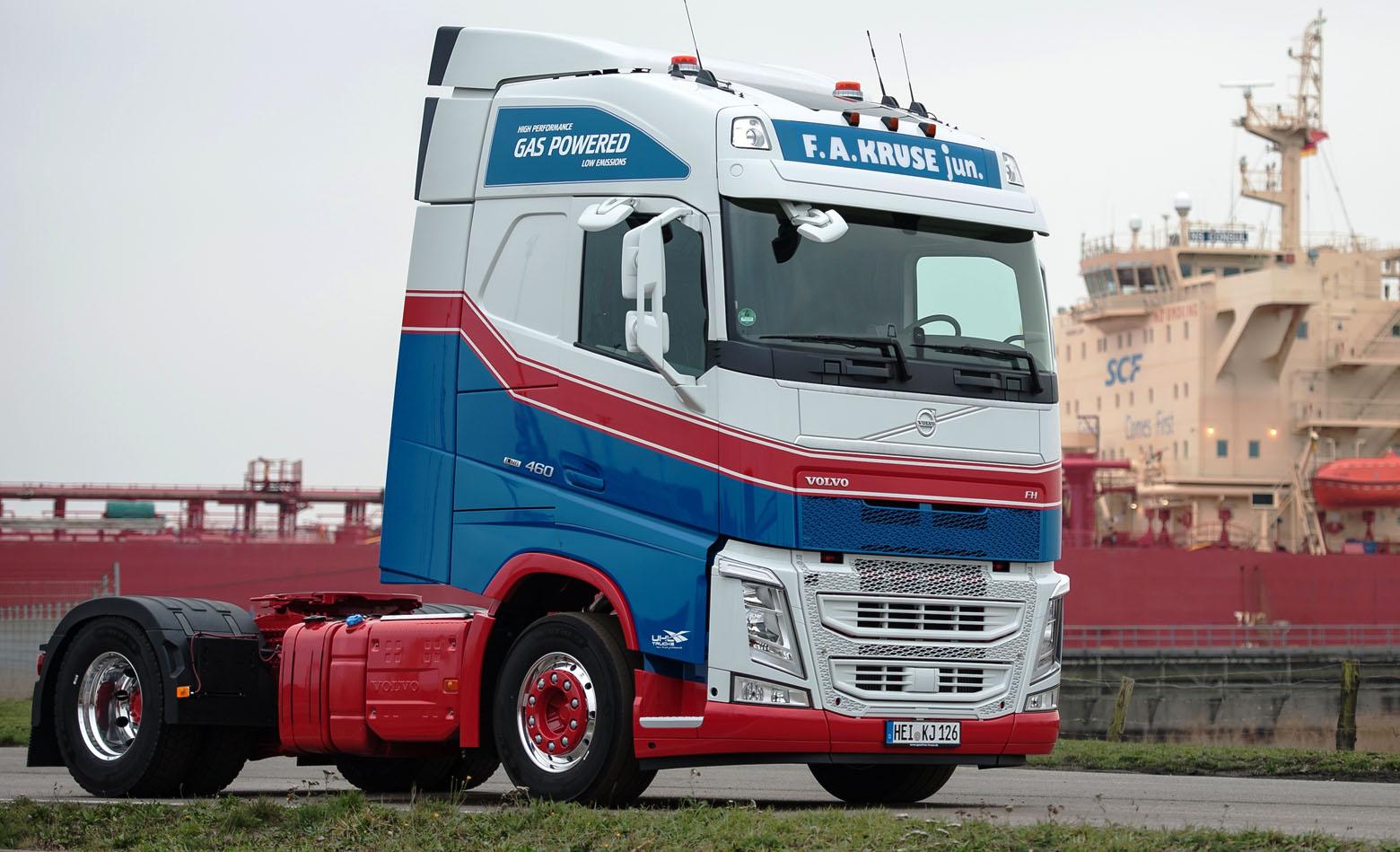 Prvi Volvo FH LNG u Njemačkoj