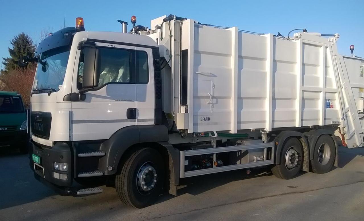 Farid komunalne nadogradnje za sakupljanje i odvoz otpada