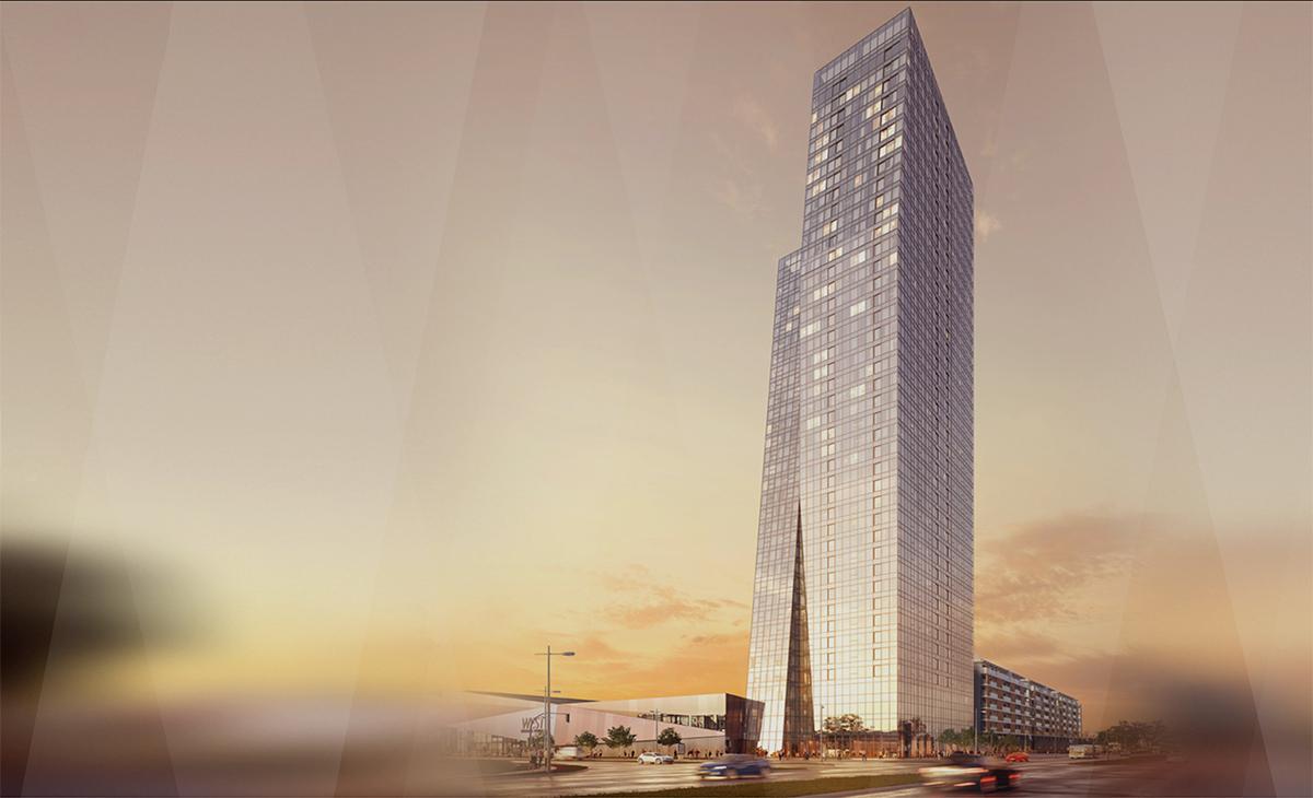 Novobeogradski West 65 Tower bit će najviša zgrada u regiji