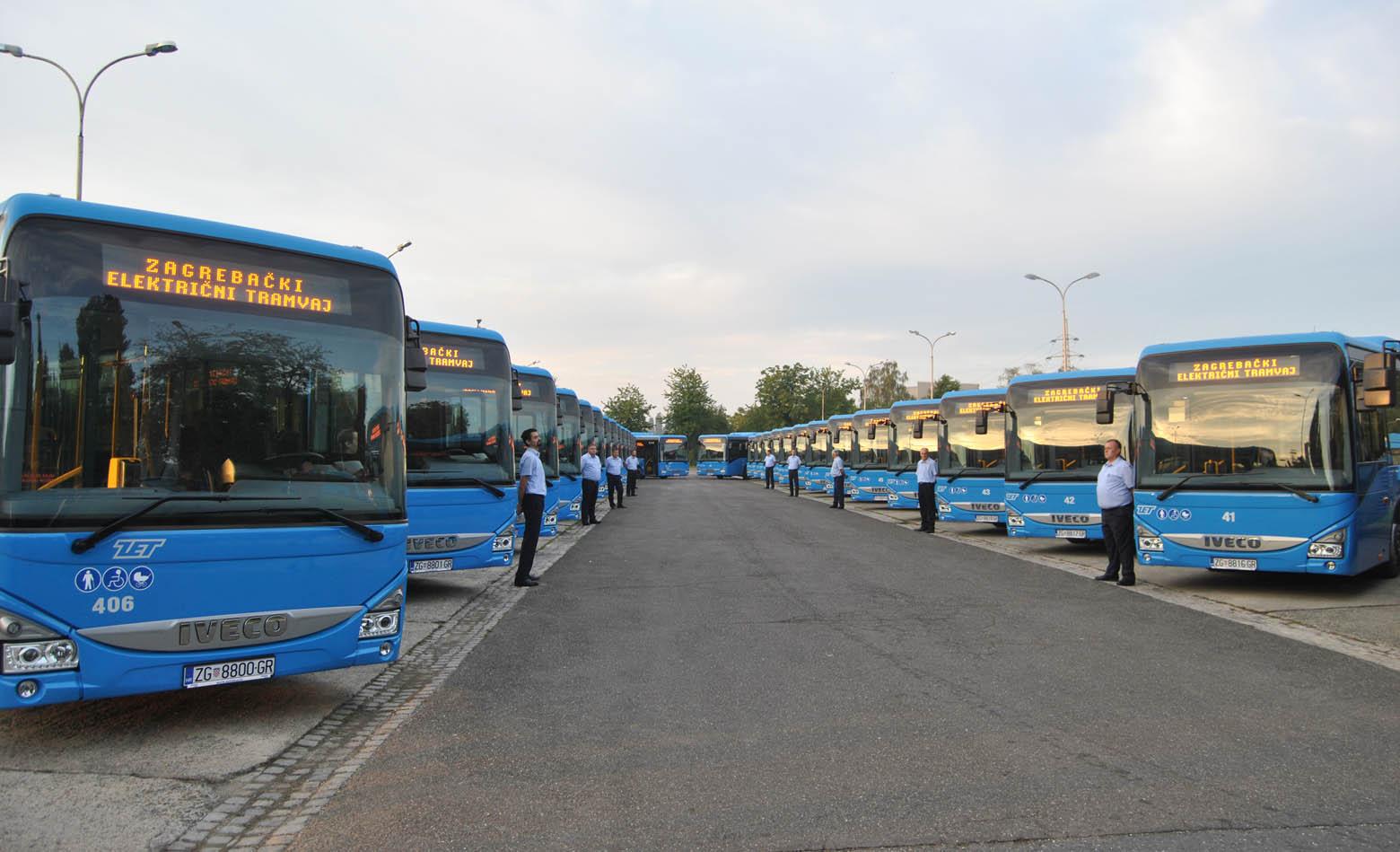 30 Crossway LE City autobusa za ZET