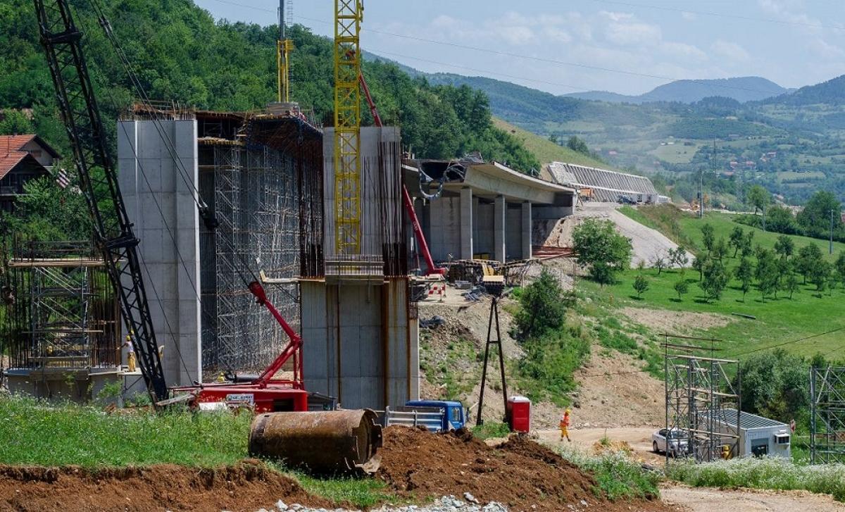 Nastavak izgradnje autoceste na koridoru Vc kroz Bosnu i Hercegovinu
