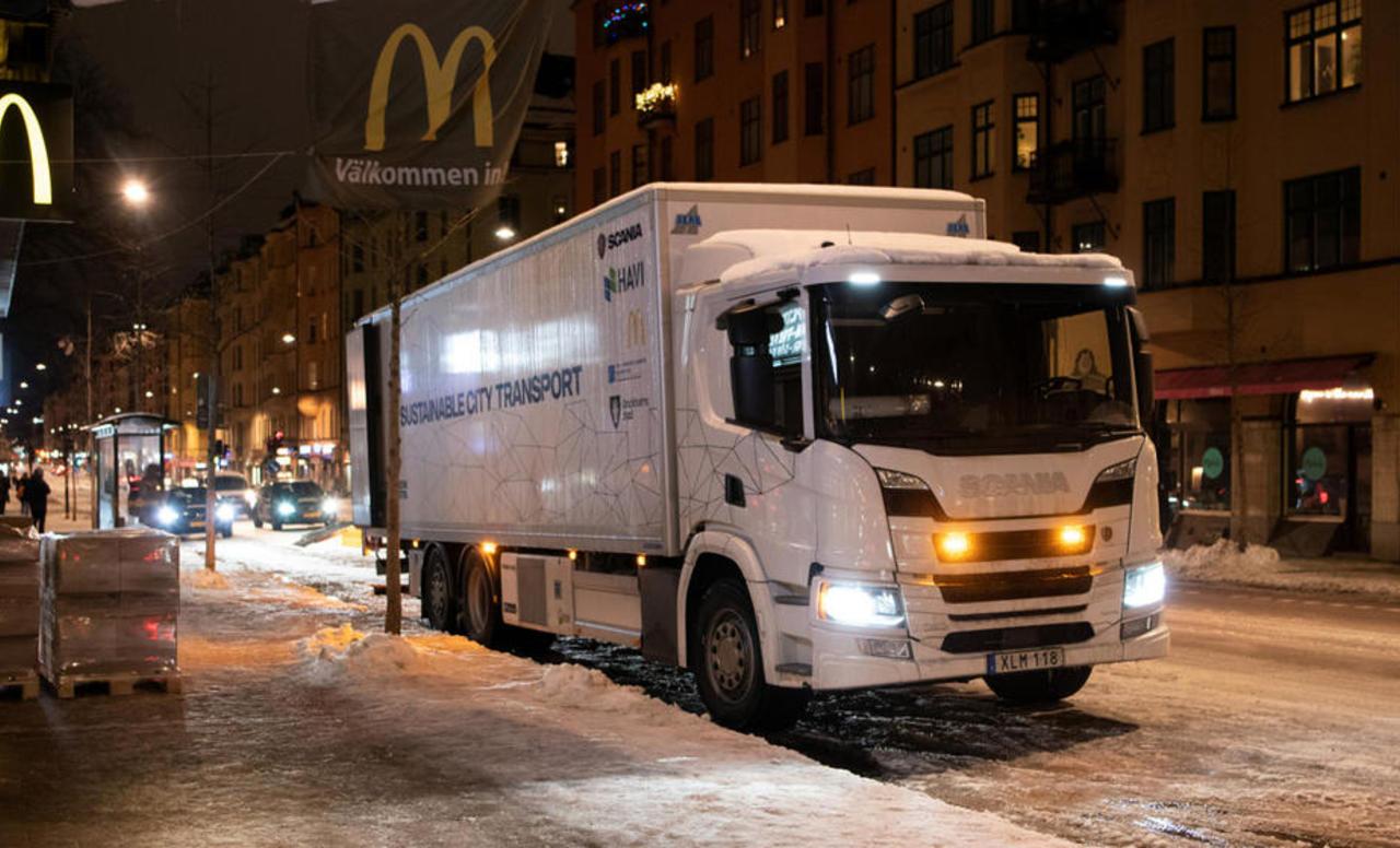 Scania plug-in hibrid