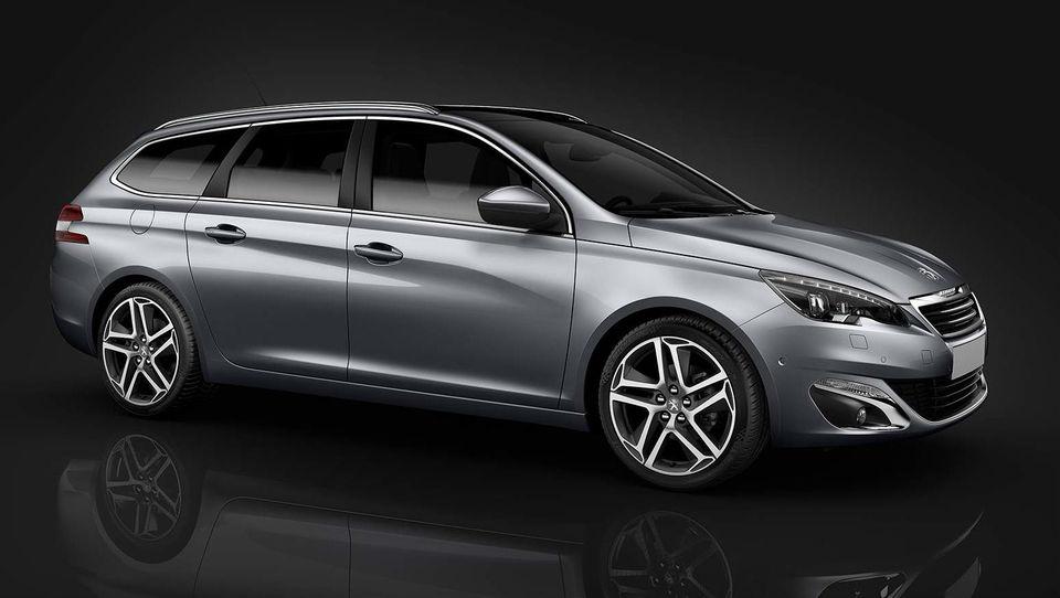 Peugeot razkril karavanskega 308