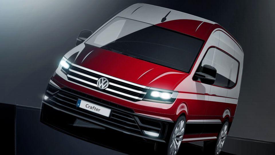 Novi VW crafter z rešitvami iz formule ena nad konkurenco