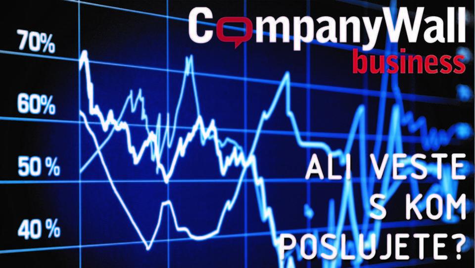 Zavarujte svoje poslovanje s finančnim asistentom Companywall Business